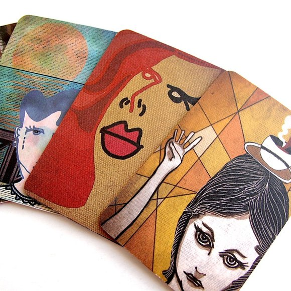 Art Cards Collection Digital Art Print by Martinez